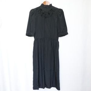Black Modest Dress size 8